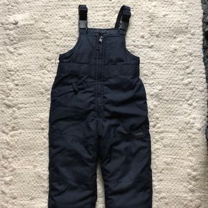 Osh Kosh 3T navy blue snow pants.